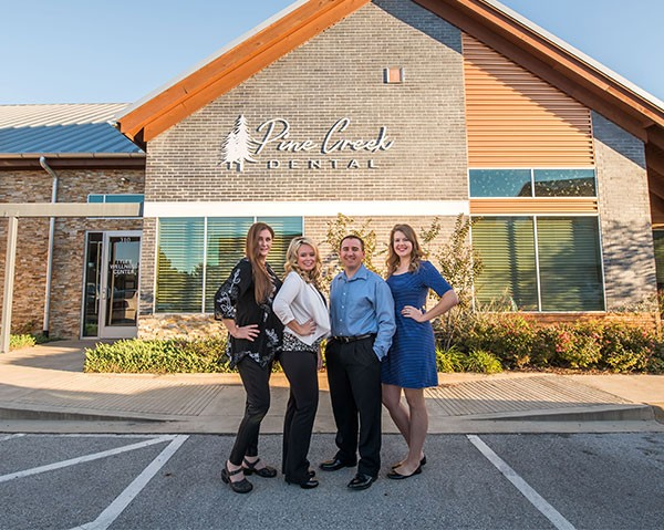 Pine Creek Dental Building and Staff